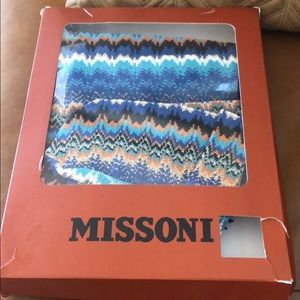 Missoni scarf and hat
